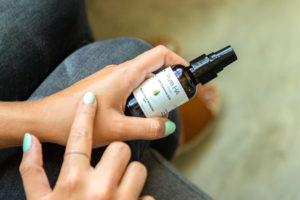Hyalogic® Pure HA Serum on Skin