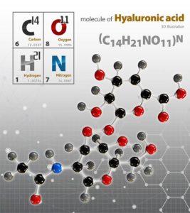 Illustration Of Hyaluronic Acid Molecule